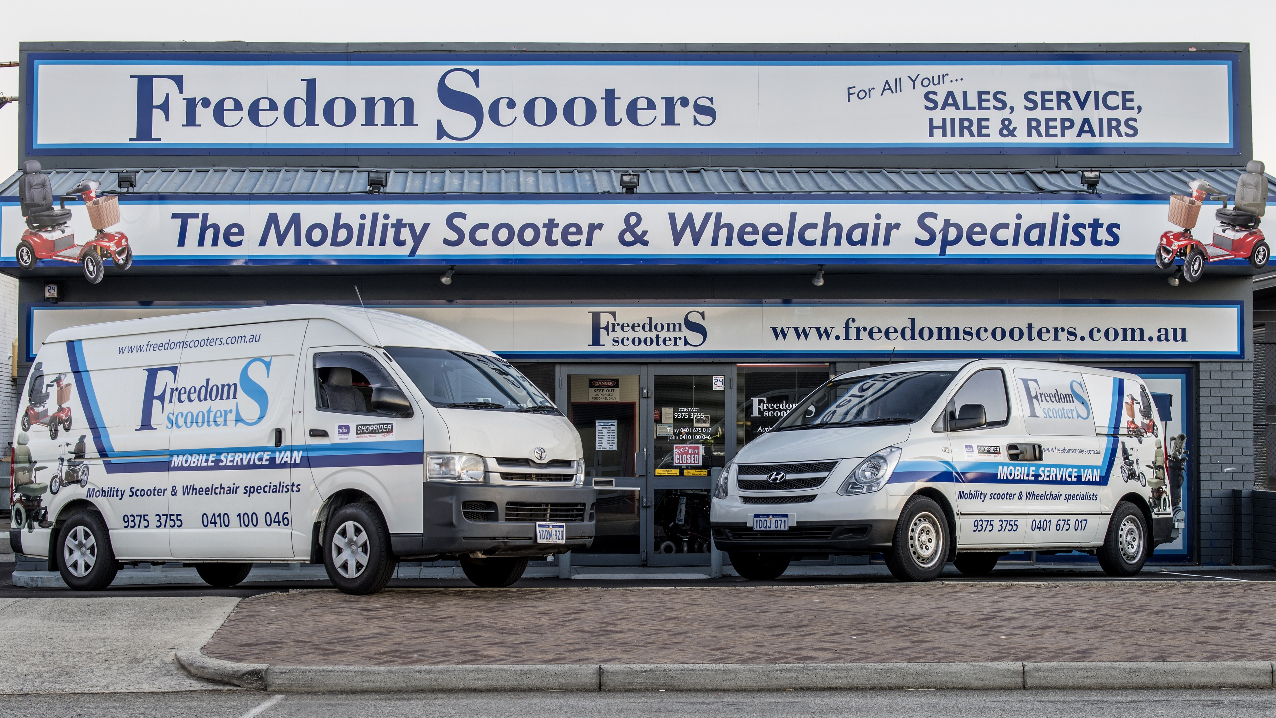 Mobility Equipment, Mobility Scooters, Wheelchairs
